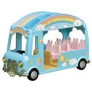 Herní set Sylvanian Families Duhový školkový autobus