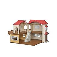 Herní set Sylvanian Families Patrový dům s červenou střechou