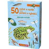 Expedice příroda: 50 zvířat a rostlin našich potoků a rybníků - Společenská hra