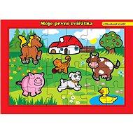 Moje první zvířátka farma - Puzzle