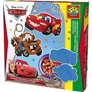 SES Zažehlovací korálky Disney Cars, přívěsky na klíče - Kreativní sada