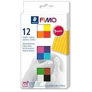 Fimo soft sada 12 barev Basic - Modelovací hmota