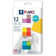 Fimo soft sada 12 barev Brilliant - Modelovací hmota