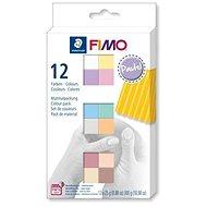 Fimo soft sada 12 barev Pastel - Modelovací hmota
