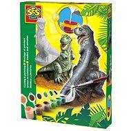 SES Sádrový komplet – T-rex - Kreativní sada