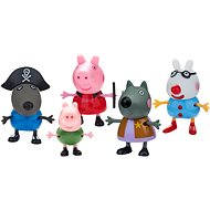 Peppa Pig Maškarní šaty, set 5 figurek - Doplňky k figurkám