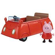 Peppa Pig Rodinné auto + figurka - Herní set