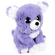 Šťěňátko fialové - Hřejivý plyšák