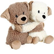 A Pair of Puppies (2pcs) - Warming Plush Toy