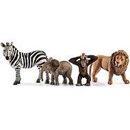 Schleich 42387 Set divoká zvířátka - Figurky