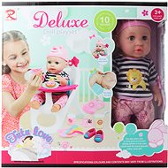 Deluxe Doll Set Futu-love with High Chair - Doll