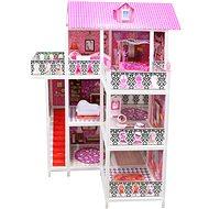Domeček pro panenky třípatrový - Domeček pro panenky