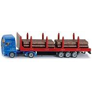 Siku Blister – Transportér pro těžký náklad - Kovový model