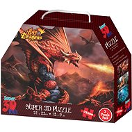 3D Puzzle Draci 3v1 - Puzzle