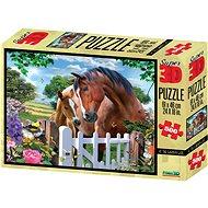 Puzzle Koně 3D