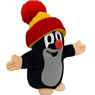 Talking Little Mole with Orange Beanie - Hand Puppet