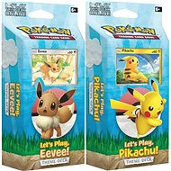 Pokémon TCG: Let's Play Pikachu/Eevee PCD  (2/8) - Karetní hra