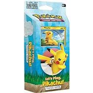 Pokémon TCG: Let's Play Pikachu PCD - Karetní hra