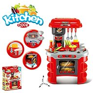 Kitchen with Accessories, works with Batteries - Children's Kitchen Set