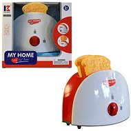 Toaster, Battery-operated - Children's Kitchen Set