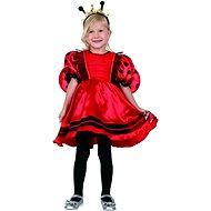 Šaty na karneval - beruška - Dětský kostým