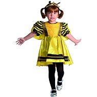 Šaty na karneval - včelka XS - Dětský kostým
