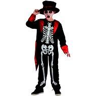 Šaty na karneval - kostra chlapec - Dětský kostým