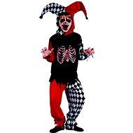 Šaty na karneval - šašek kostra - Dětský kostým
