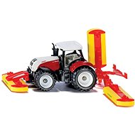 Siku Blister - Steyr tractor with chopper attachments - Metal Model