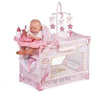 DeCuevas Toys Moje první skládací postýlka pro panenky Maria  - Nábytek pro panenky