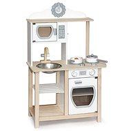 Dřevěná moderní kuchyňka - Dřevěná hračka