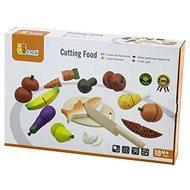 Dřevěné krájení - potraviny - Dřevěná hračka