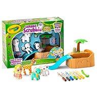 Crayola Washimals Safari - Tematická sada hraček
