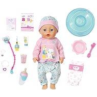 BABY born Bath Soft Touch Holčička s doplňky na čištění zubů - Panenka
