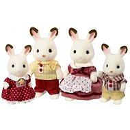 Sylvanian Families Rodina chocolate králíků - Figurky