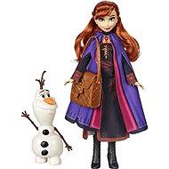 Frozen 2 Anna s kamarádem - Figurka