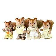 Sylvanian Families Rodina hnědých veverek - Figurky