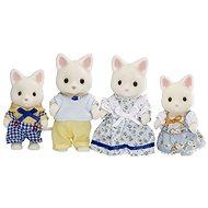 Sylvanian Families Rodina hedvábných koček - Figurky