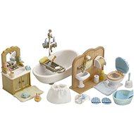 Sylvanian Families Vybavení – koupelna s toaletou - Herní set