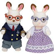 Sylvanian Families Babička a dědeček chocolate králíci - Figurky
