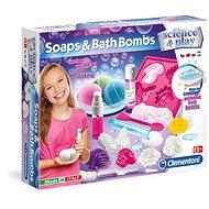 Clementoni Mýdla a bomby do koupele - Kreativní sada