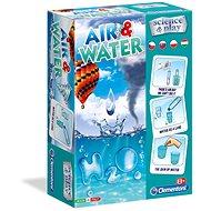 Kreativní sada Clementoni Pokusy voda a vzduch
