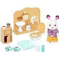Sylvanian Families Nábytek chocolate králíků – bratr a umývárna - Herní set
