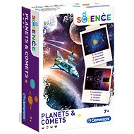 Clementoni Planety a komety - Kreativní sada