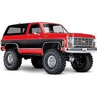 Traxxas TRX-4 Chevrolet K5 Blazer 1:10 RTR červený - RC auto na dálkové ovládání