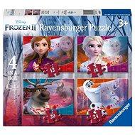 Ravensburgser 030194 Disney Ledové království 2 4 v 1 - Puzzle