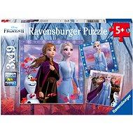 Puzzle Ravensburgser 050116 Disney Ledové království 2 3x49 dílků - Puzzle