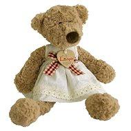 Lumpin Medvědice Lumpinka s mašlí - Plyšová hračka