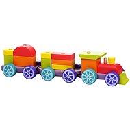 Cubika 12923 Duhový vláček s dvěma vagony