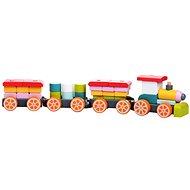 Cubika 13319 Wooden Train - Wooden Toy